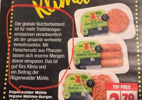 Verbot von Fleischwerbung